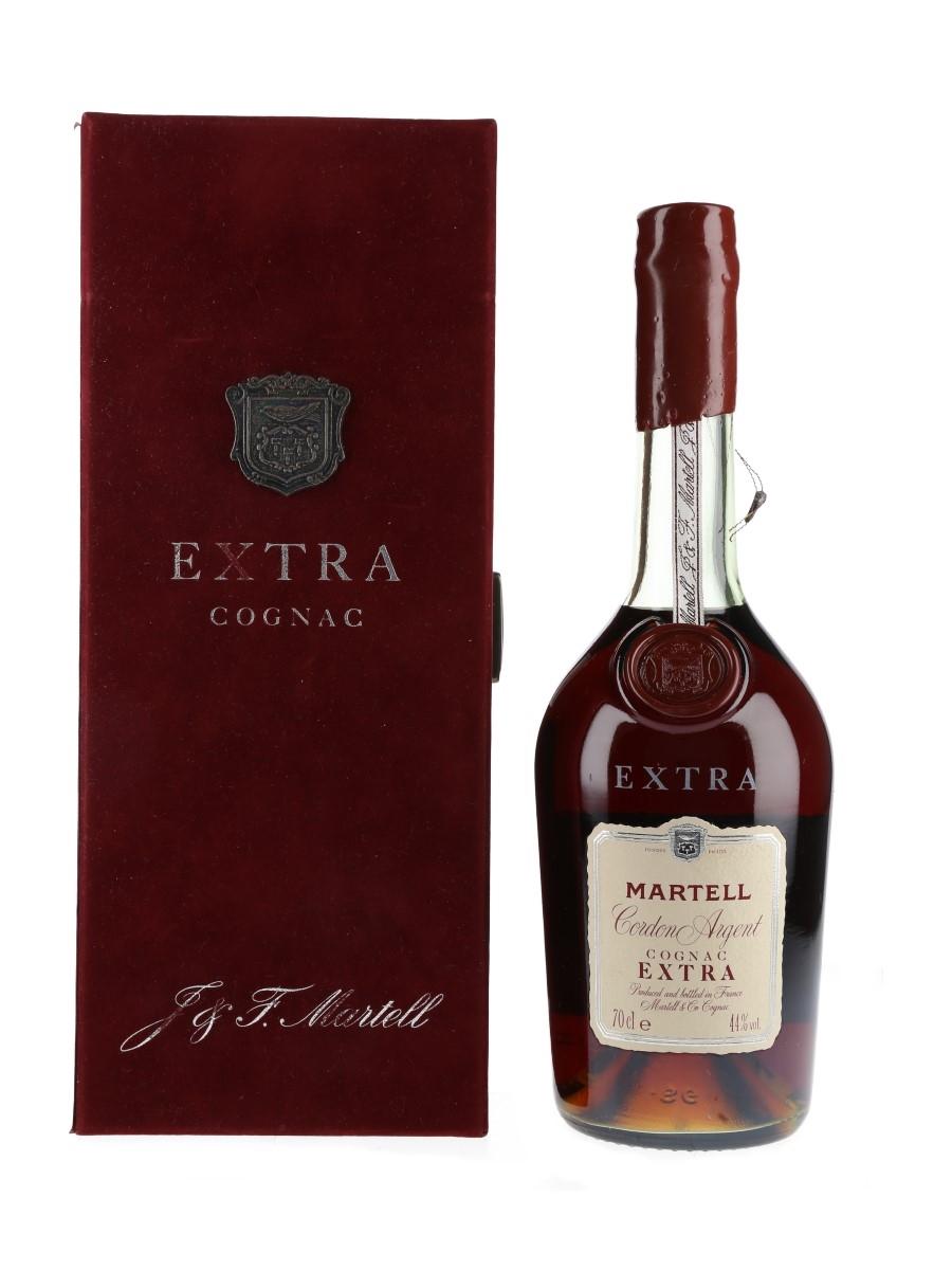 Martell Cordon Argent Extra Bottled 1980s 70cl / 44%