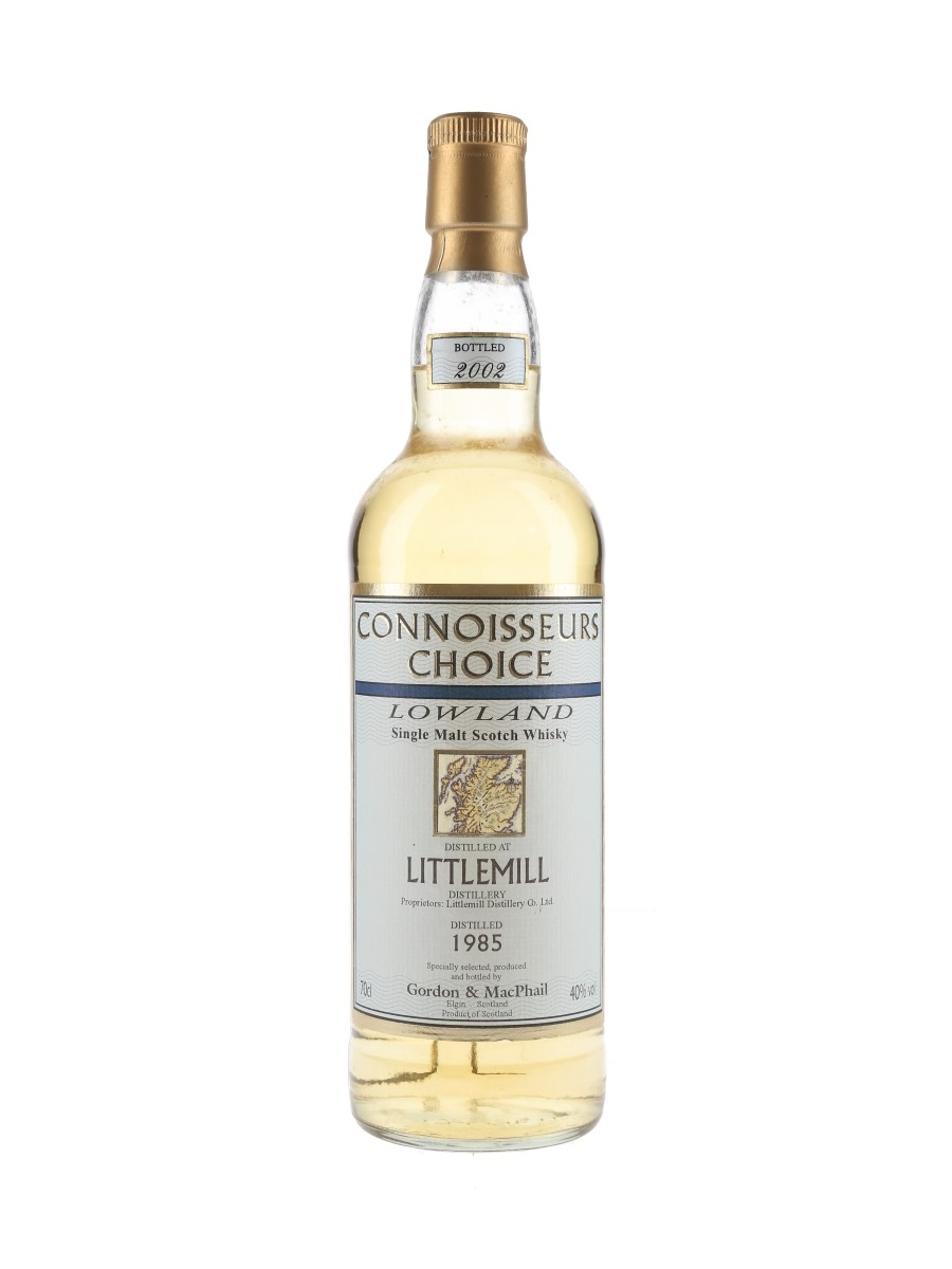 Littlemill 1985 Connoisseurs Choice Bottled 2002 - Gordon & MacPhail 70cl / 40%