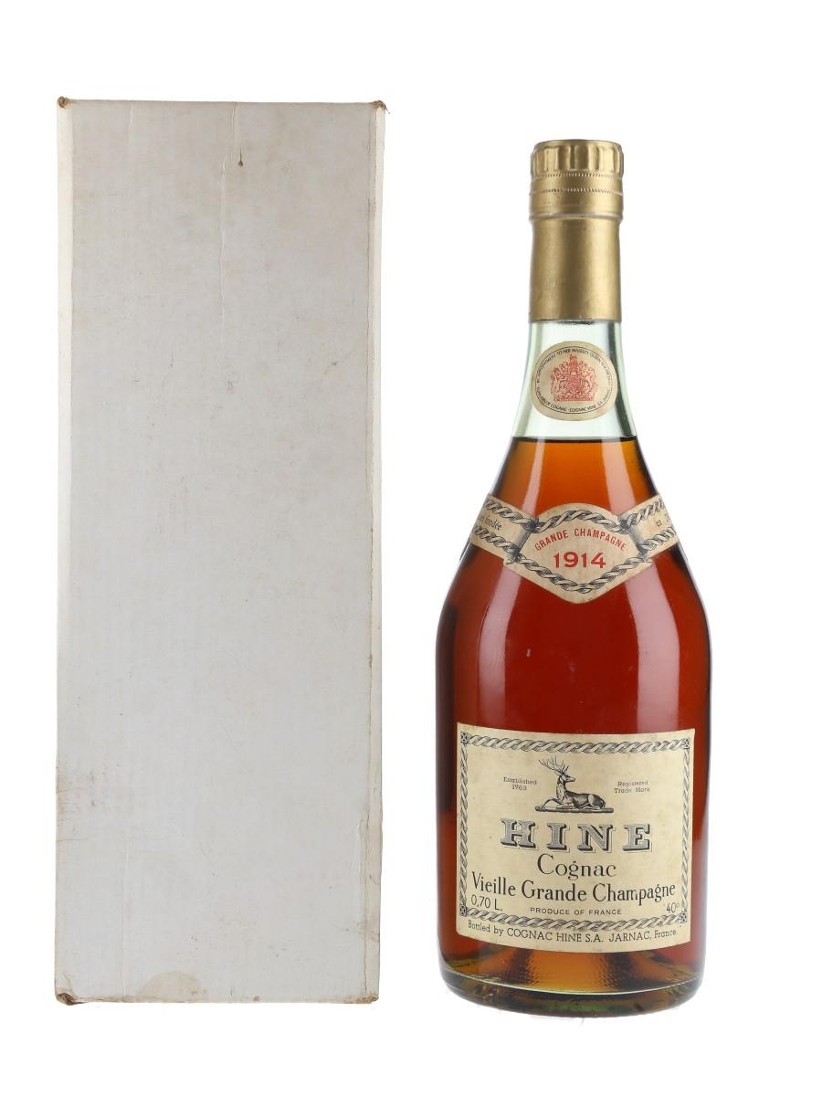 Hine 1914 Vieille Grande Champagne Cognac Bottled 1950s-1960s 70cl / 40%