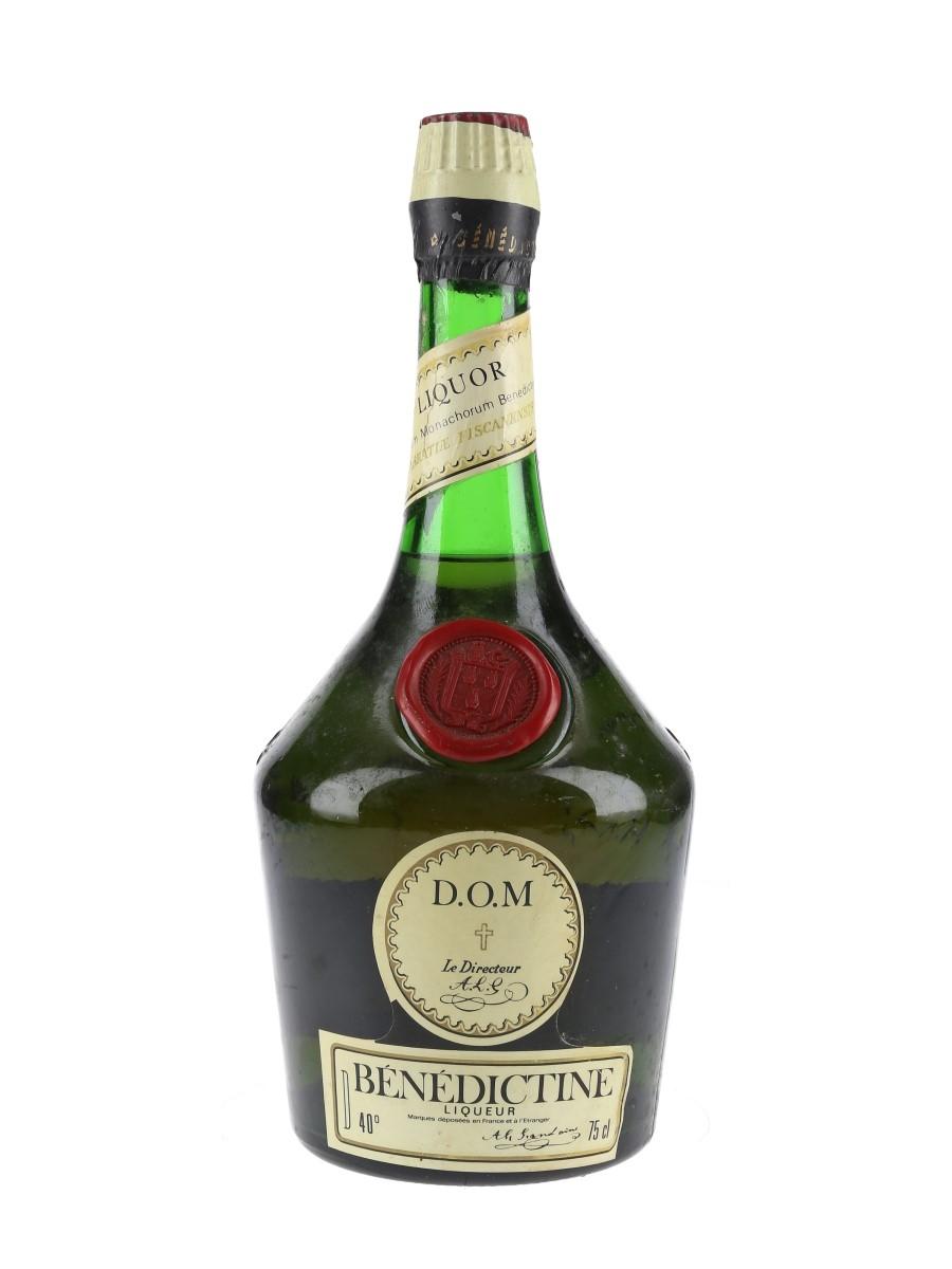 Benedictine DOM Bottled 1980s - Cinzano 75cl / 40%