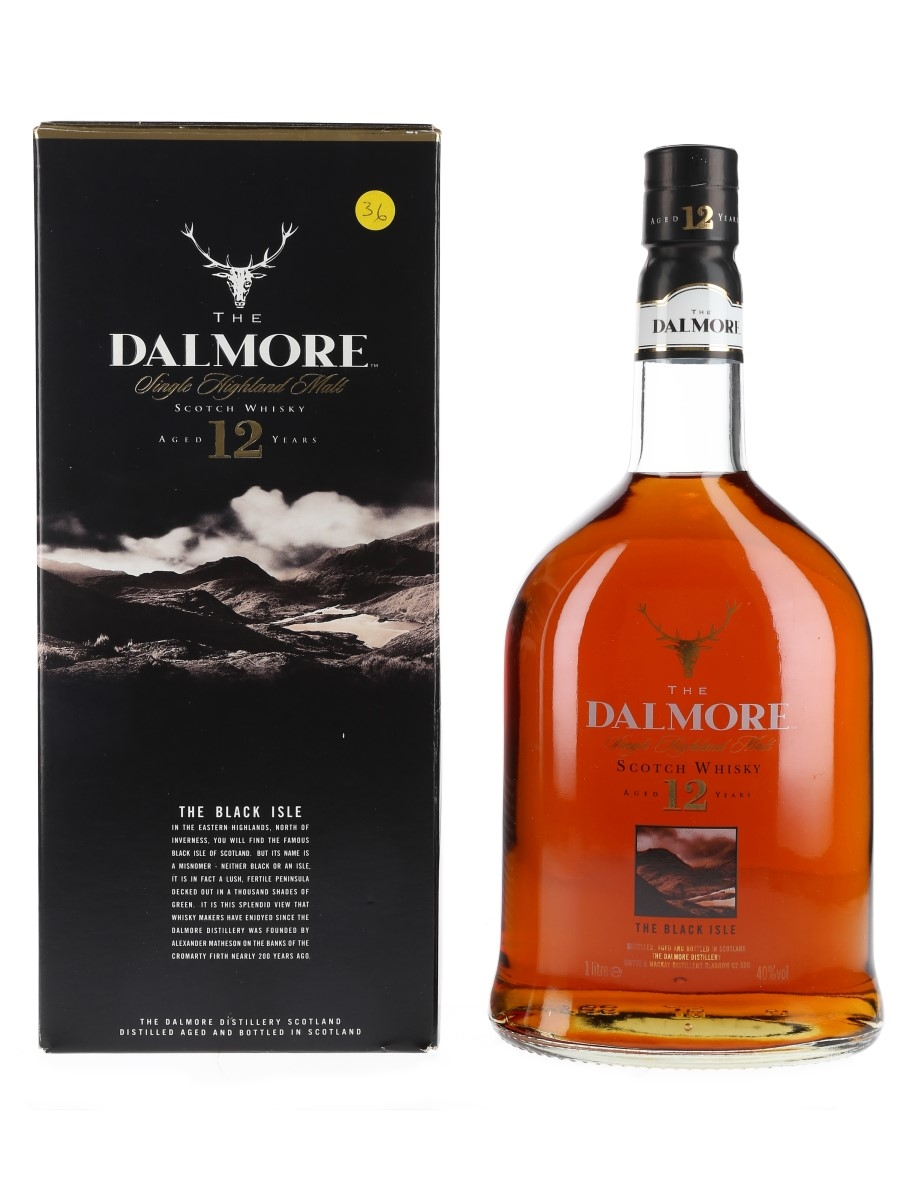 Dalmore 12 Year Old Bottled 1990s 100cl / 40%