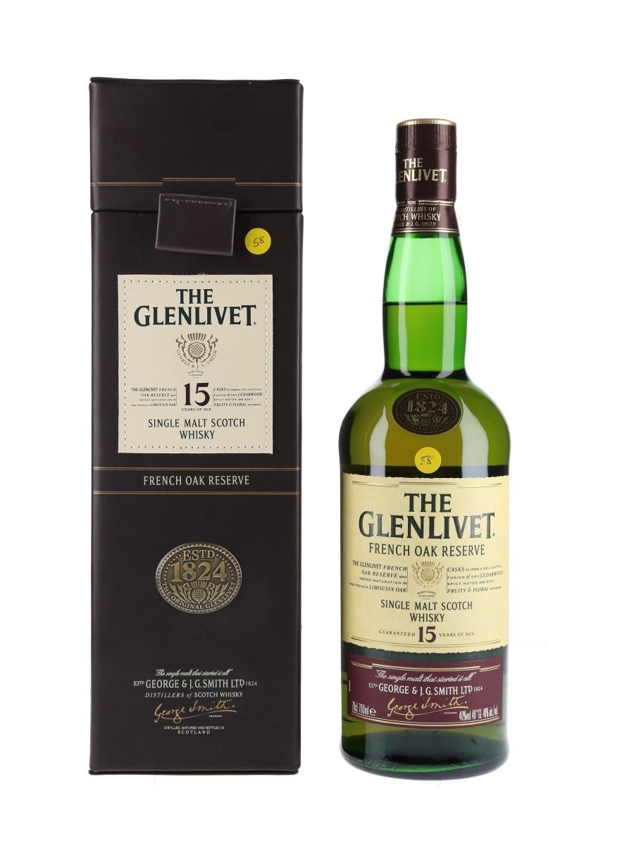 Glenlivet 15 Year Old French Oak Reserve Bottled 2007 70cl / 40%