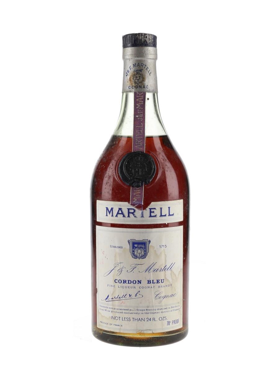 Martell Cordon Bleu Bottled 1960s-1970s 68cl / 40%
