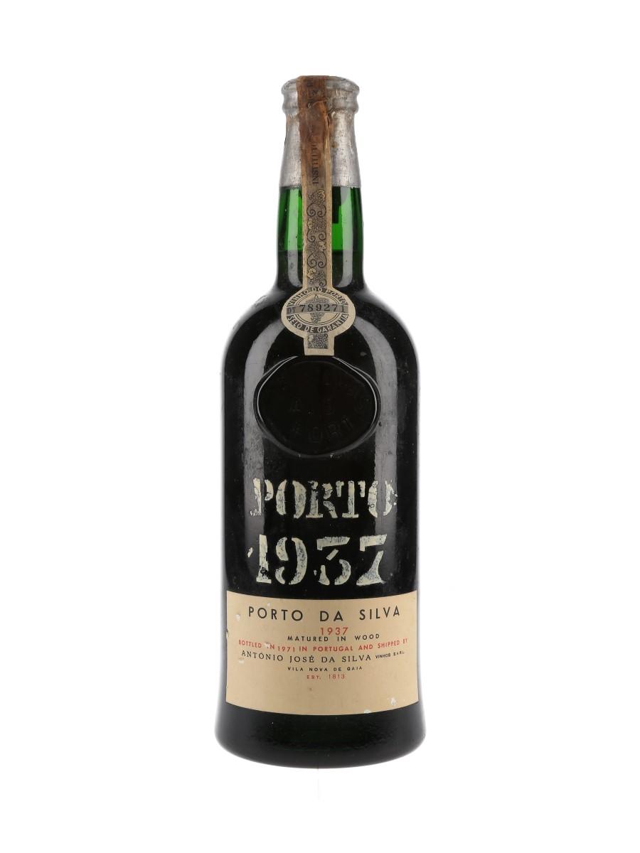 Porto Da Silva 1937 Bottled 1971 75cl