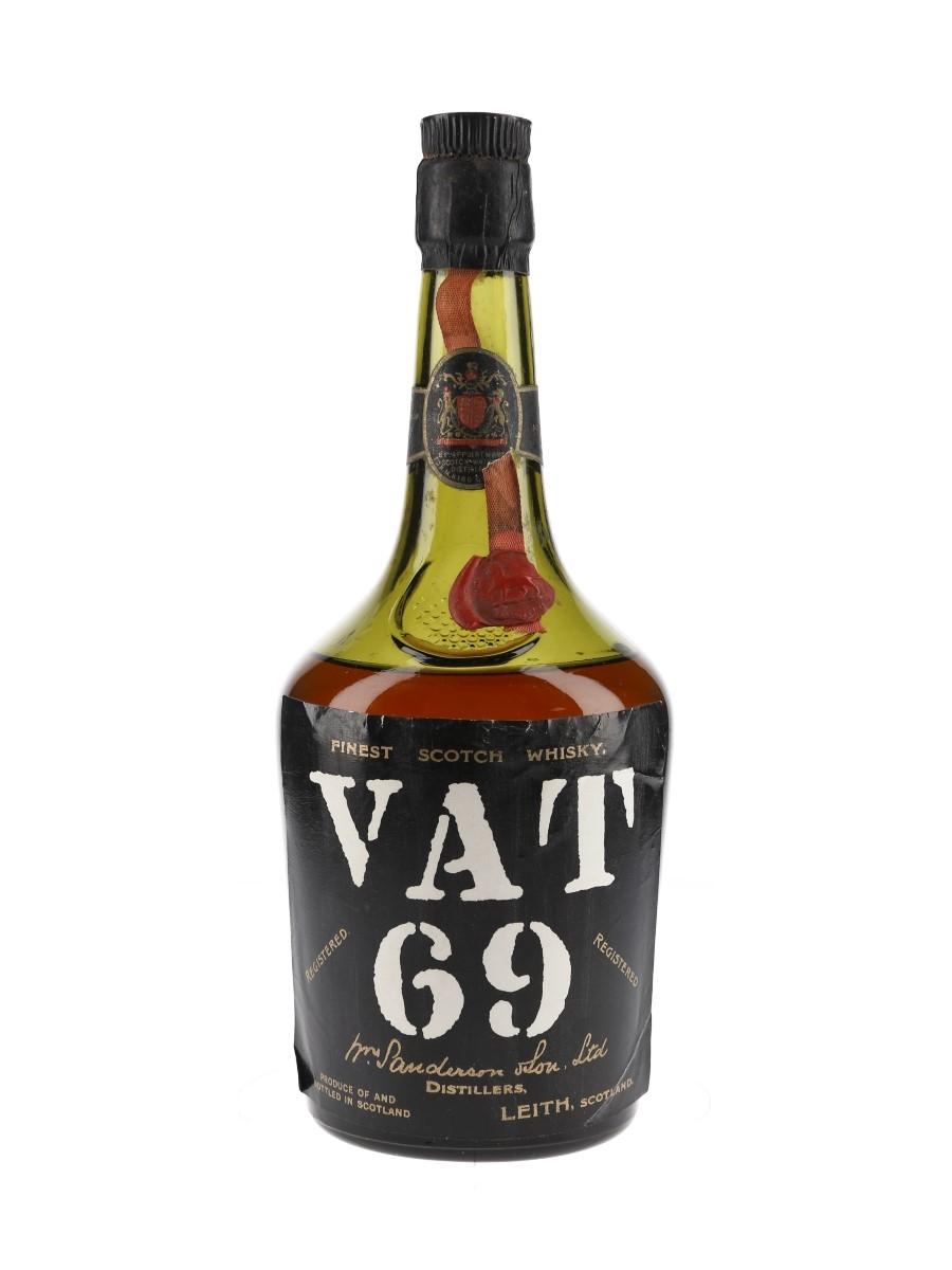 Vat 69 Bottled 1960s 75cl