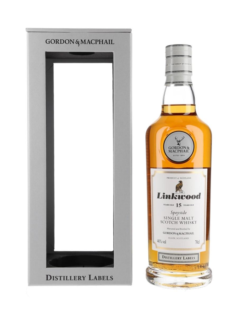 Linkwood 15 Year Old Distillery Labels Gordon & MacPhail 70cl / 46%