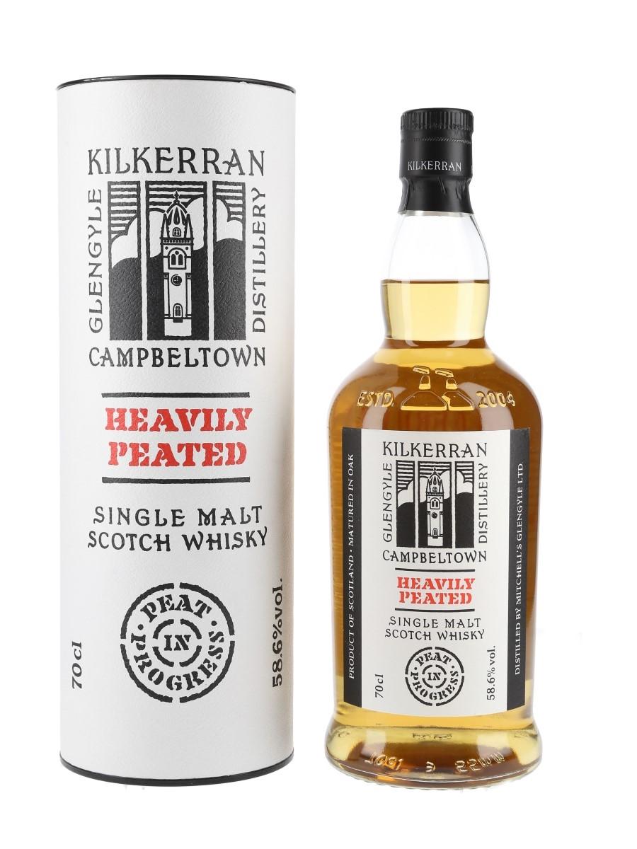 Kilkerran Heavily Peated Bottled 2021 - Batch No. 4 70cl / 58.6%