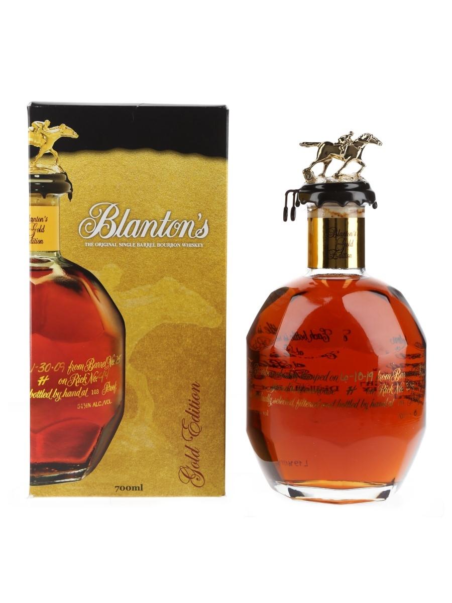 Blanton's Gold Edition Barrel No.823 Bottled 2019 70cl / 51.5%