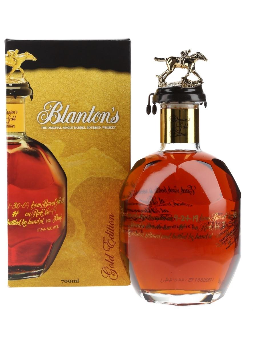 Blanton's Gold Edition Barrel No. 331 Bottled 2019 70cl / 51.5%