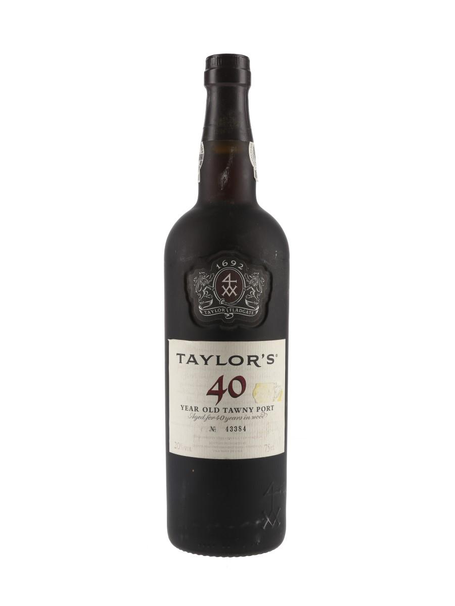 Taylor's 40 Year Old Tawny Port Bottled 2007 70cl / 20%