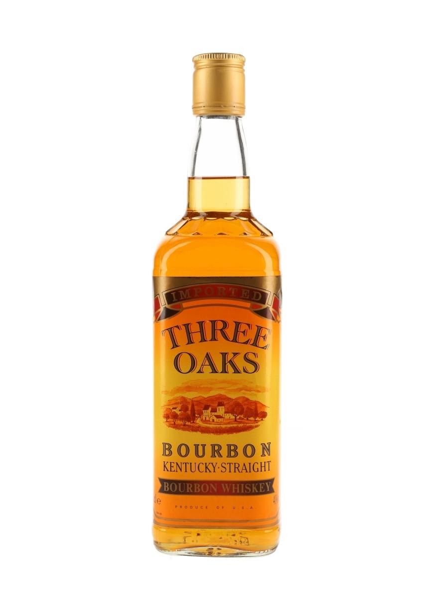 Three Oaks Kentucky Straight Bourbon Bottled 1990s 70cl / 40%