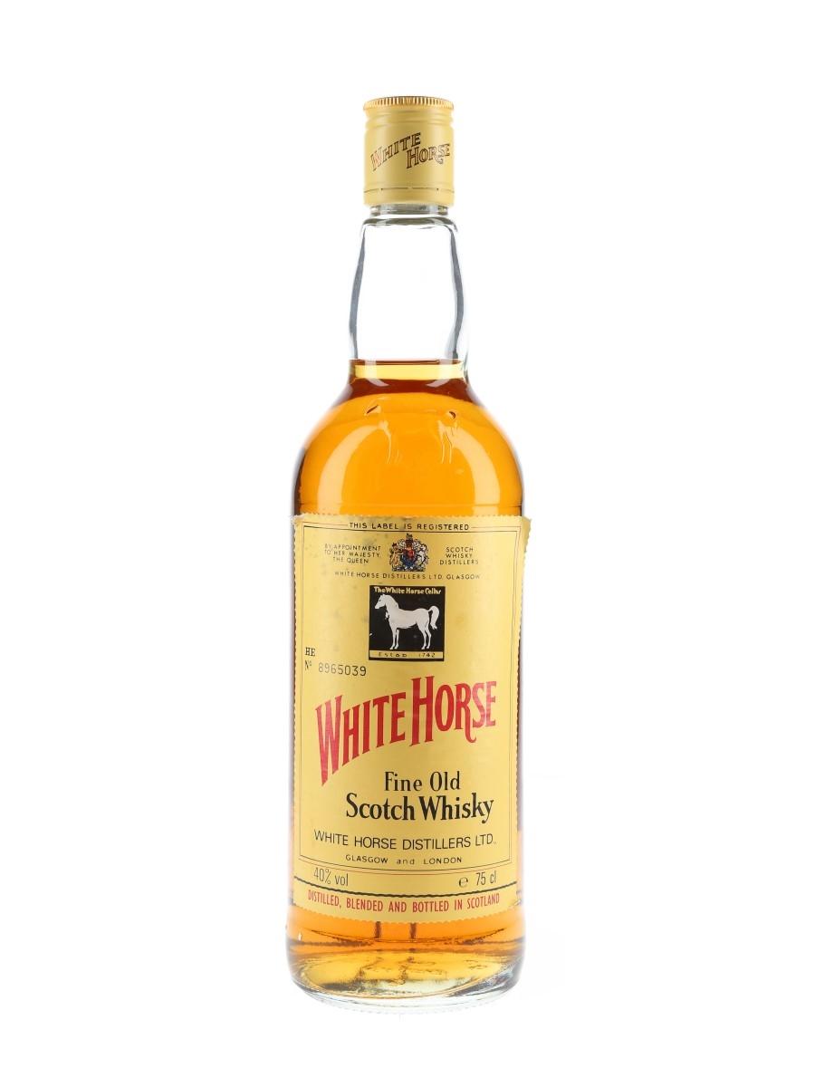 White Horse Bottled 1980s 75cl / 40%