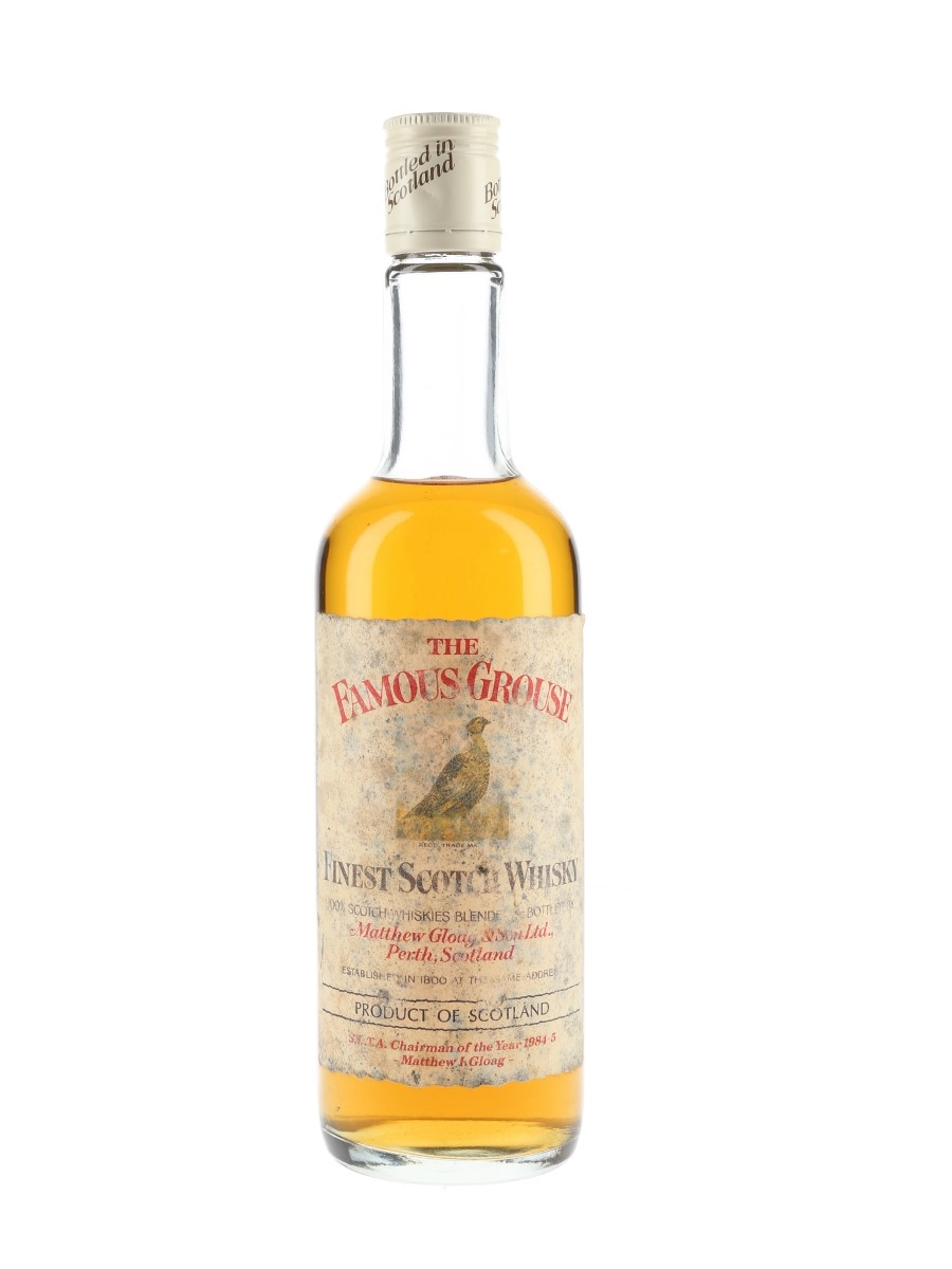 Famous Grouse S.A.T.A. Chairman of the Year 1984-5 50cl