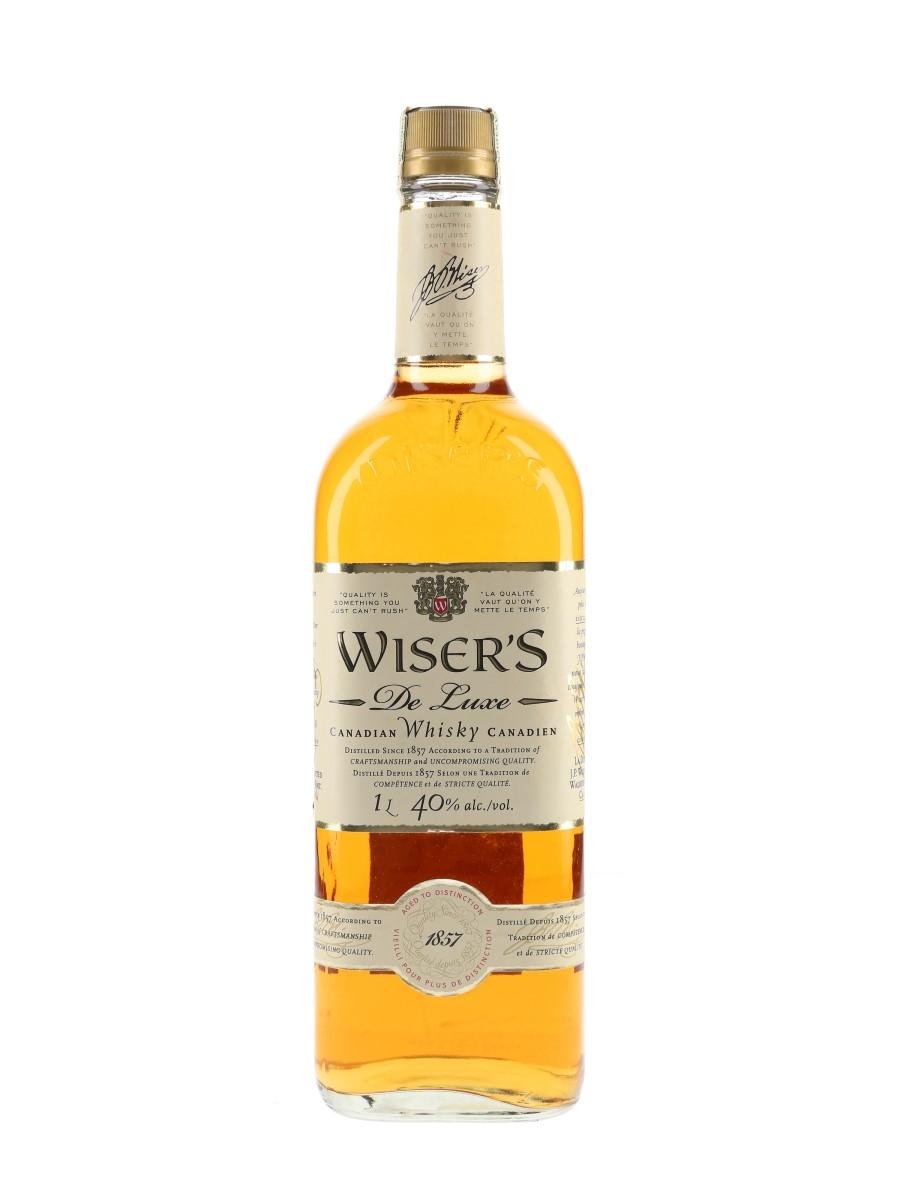 Wiser's De Luxe  100cl / 40%