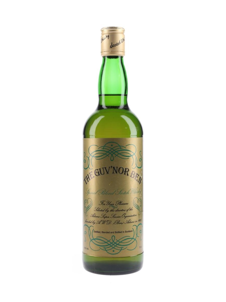 Guv'nor Ben Bottled 1980s 75cl / 40%