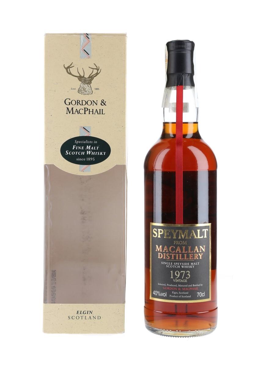 Macallan 1973 Speymalt Bottled 2005 - Gordon & MacPhail 70cl / 40%