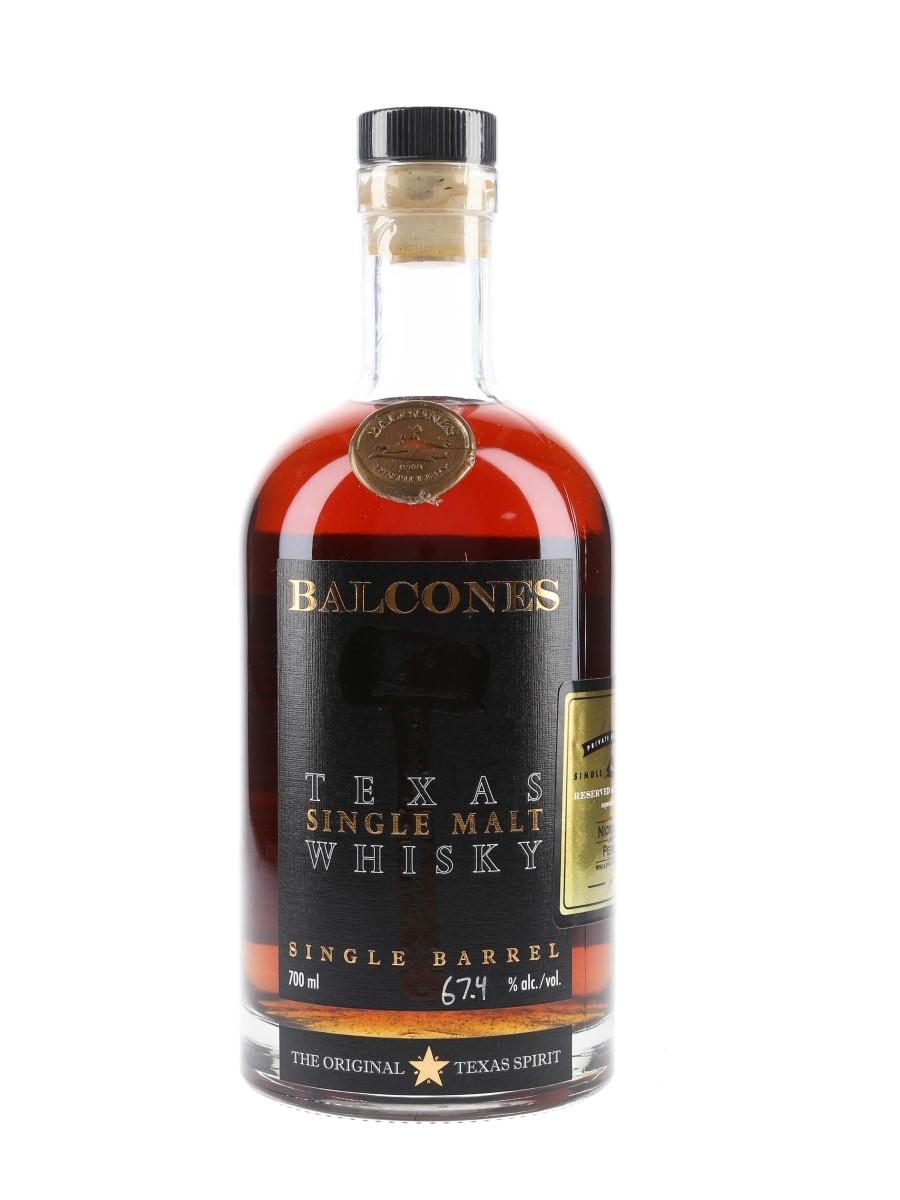 Balcones 2016 Texas Single Malt Bottled 20179 - Nickolls & Perks 70cl / 67.4%