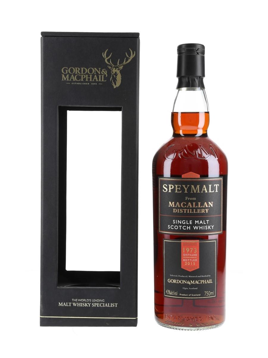 Macallan 1973 Speymalt Bottled 2015 - Gordon & MacPhail 75cl / 43%