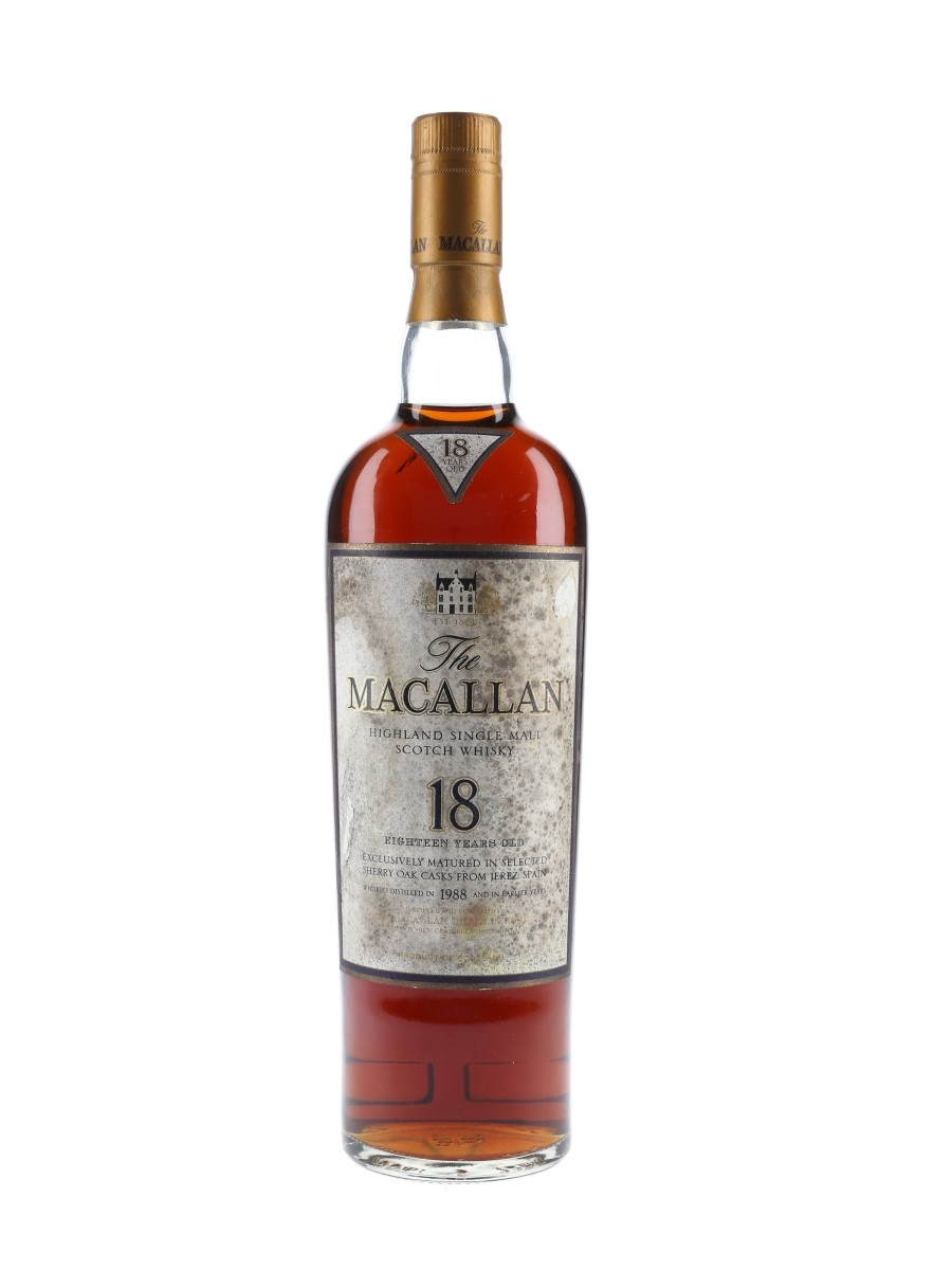 Macallan 18 Year Old Distilled 1988 And Earlier - Fassbind Compagnie 70cl / 43%
