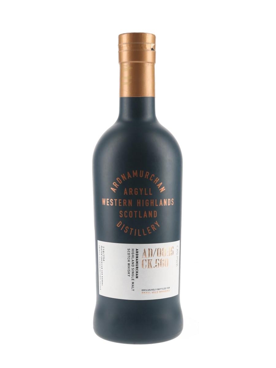 Ardnamurchan Single Cask AD:08:15 CK.560 Royal Mile Whiskies 70cl / 58.9%