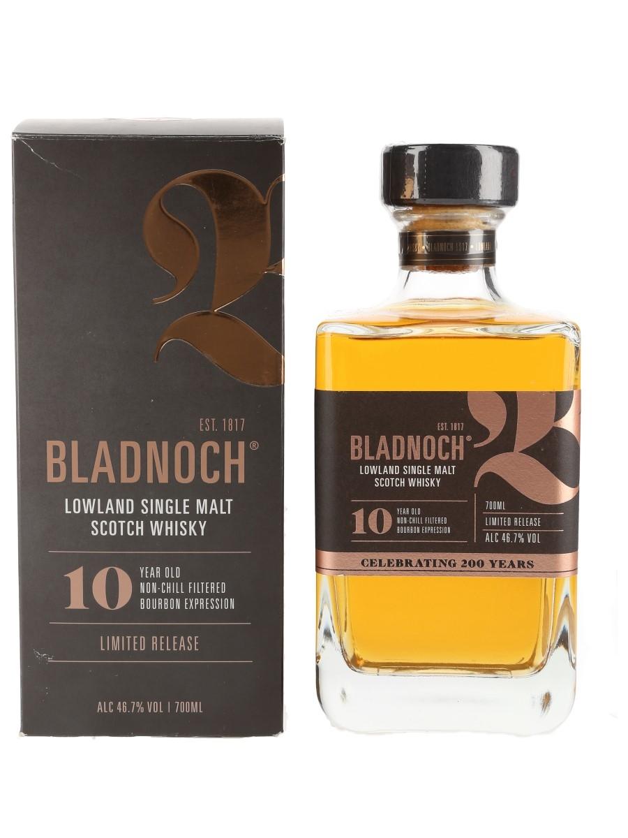 Bladnoch 10 Year Old Bourbon Expression 70cl / 46.7%