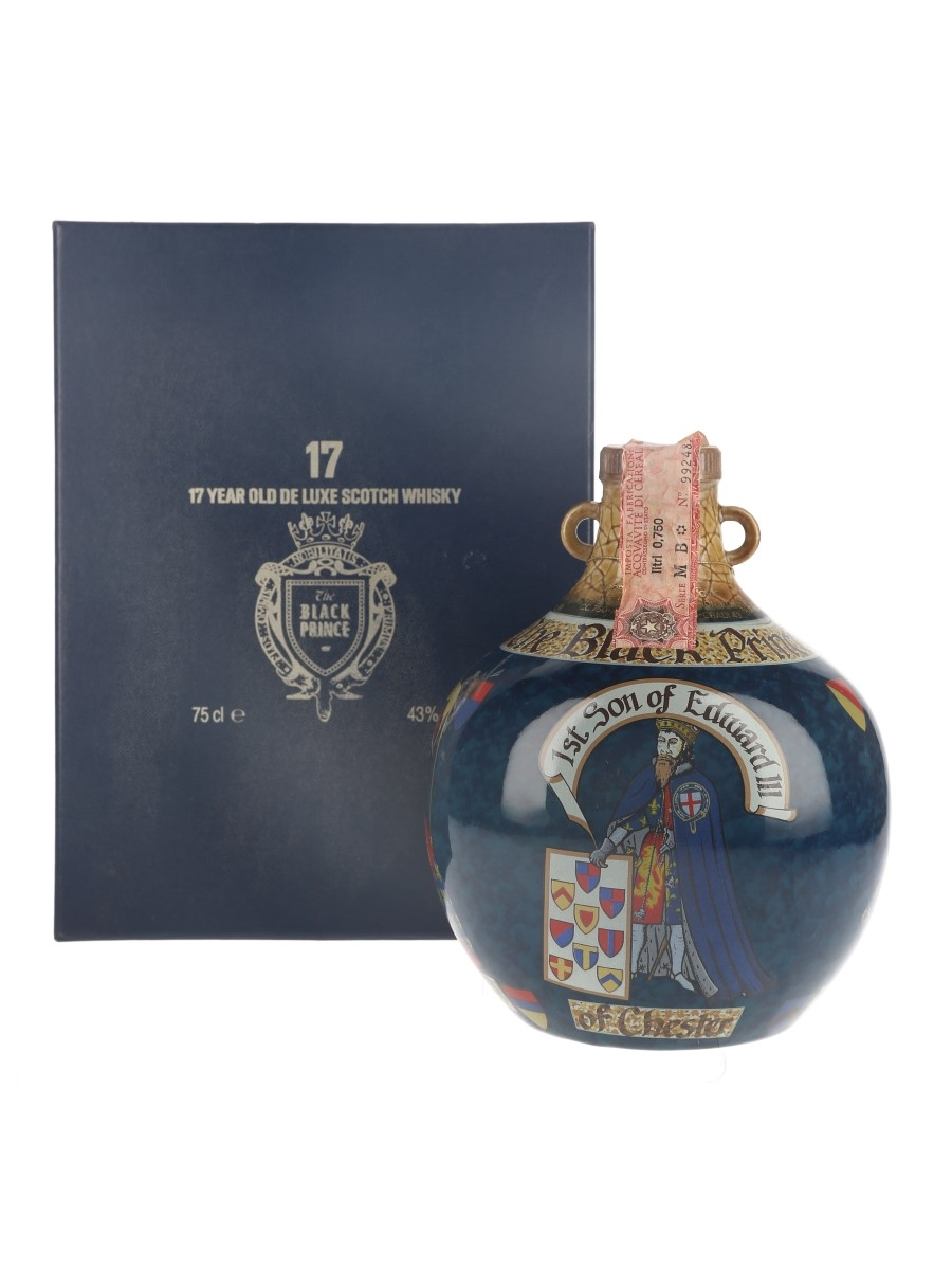 The Black Prince 17 Year Old Ceramic Decanter Bottled 1980s 75cl / 43%