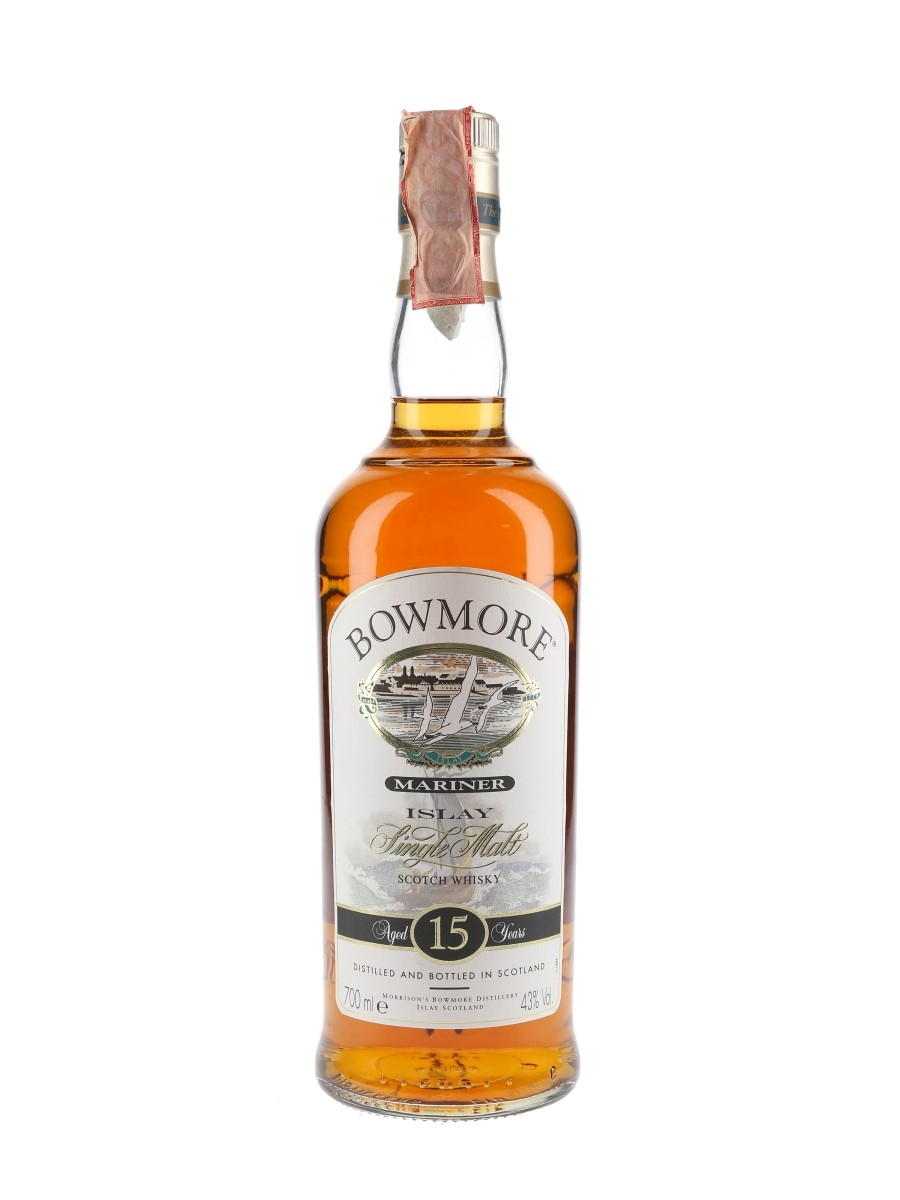 Bowmore 15 Year Old Mariner Bottled 2000s 70cl / 43%