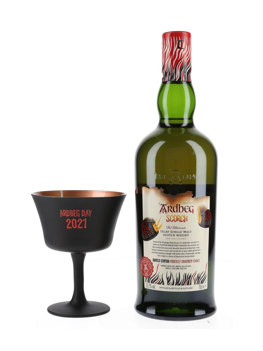 Ardbeg Scorch & Ardbeg Day 2021 Goblet Committee Only Edition 2021 70cl / 51.7%