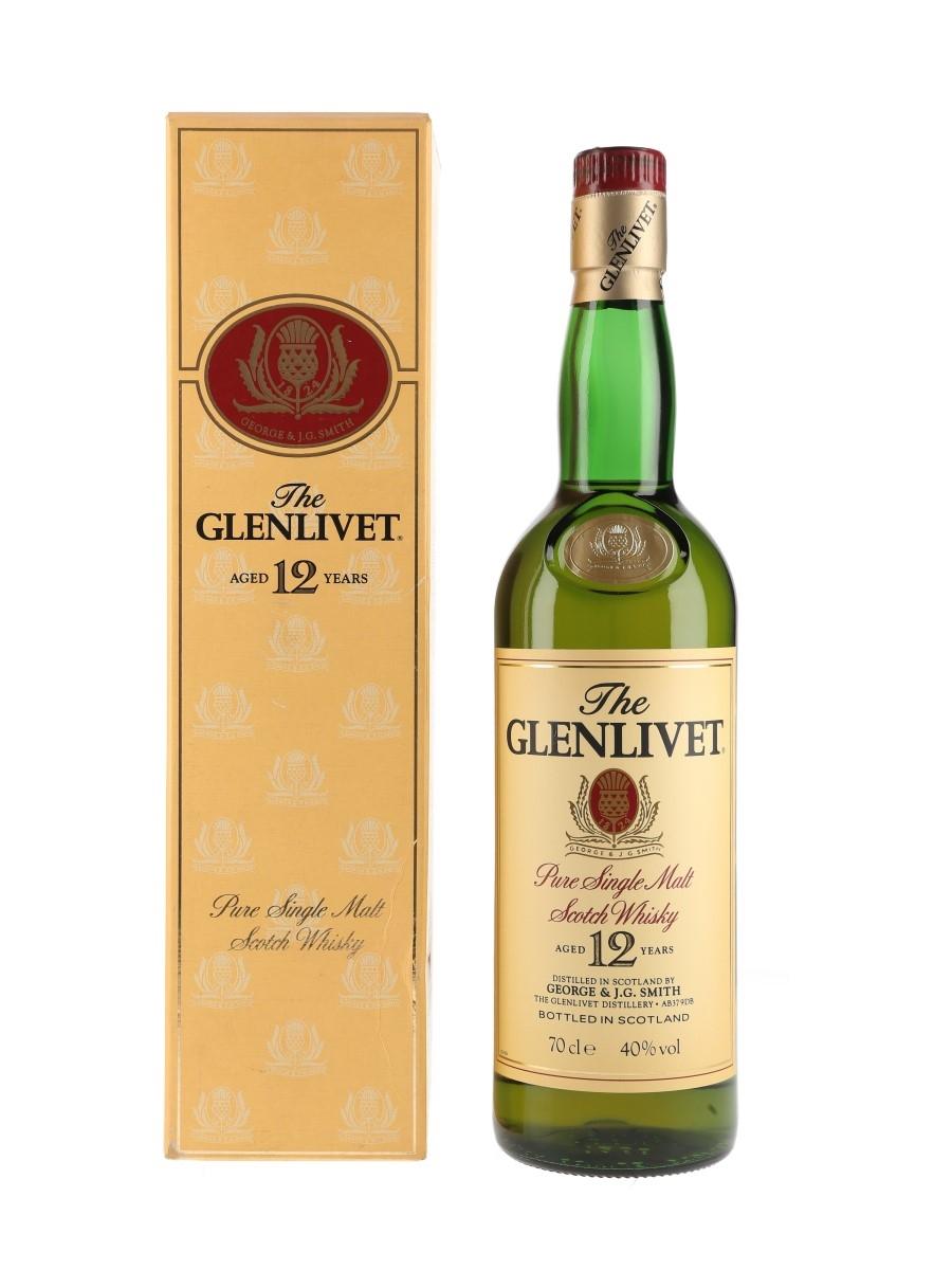 Glenlivet 12 Year Old Bottled 1990s 70cl / 40%