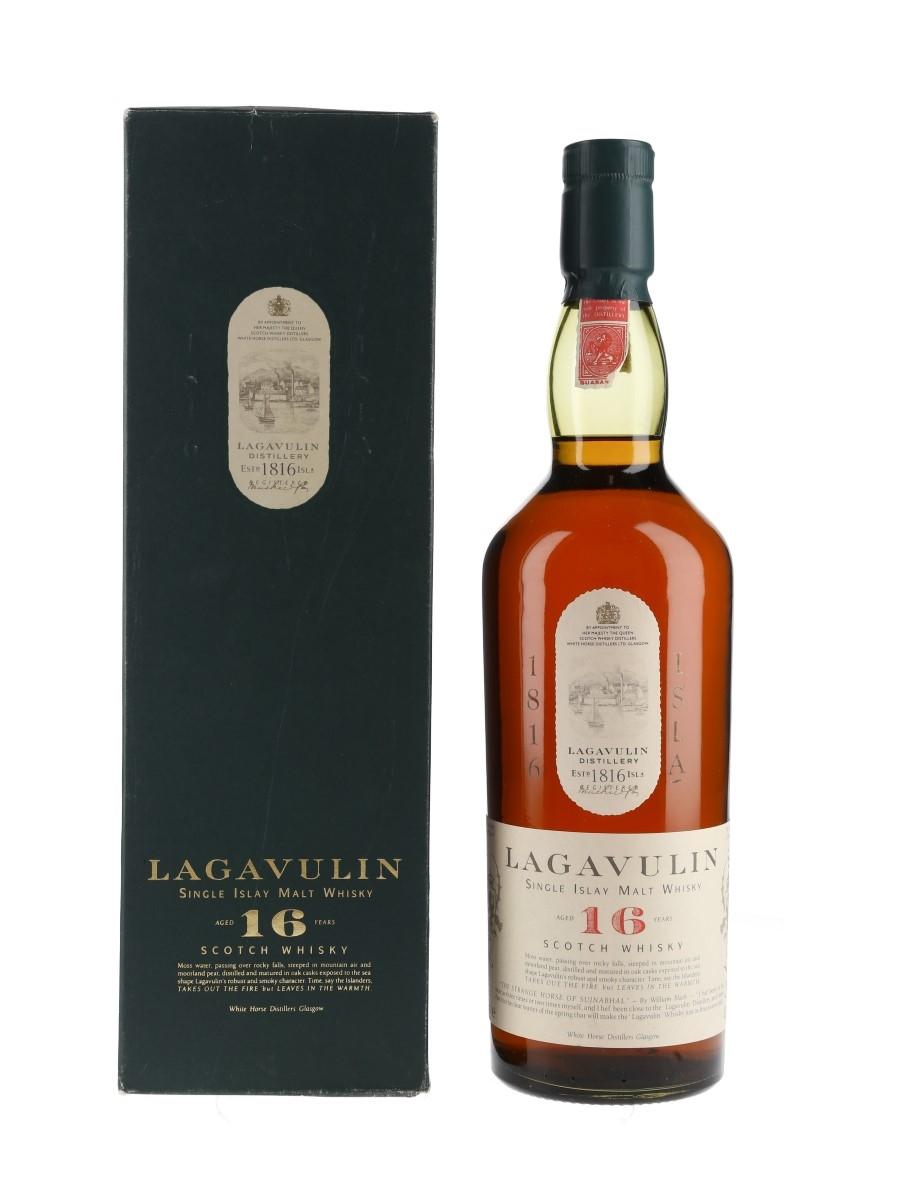 Lagavulin 16 Year Old Bottled 1980s - White Horse Distillers 75cl / 43%