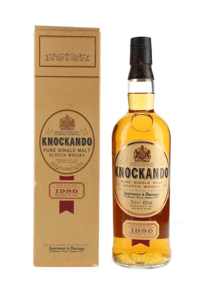 Knockando 1980 Bottled 1996 70cl / 40%