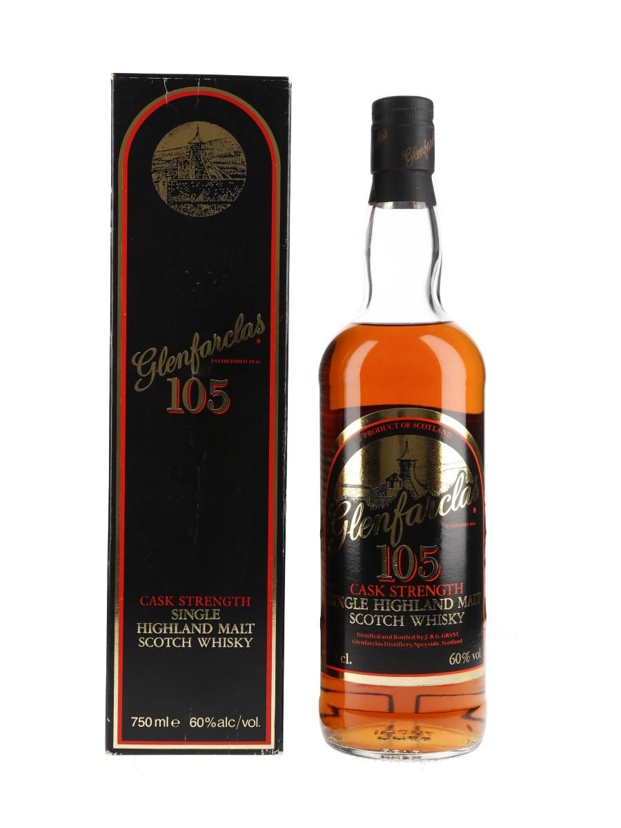 Glenfarclas 105 Cask Strength Bottled 1980s 75cl / 60%