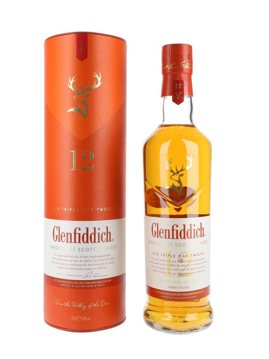 Glenfiddich 12 Year Old Triple Oak  70cl / 40%