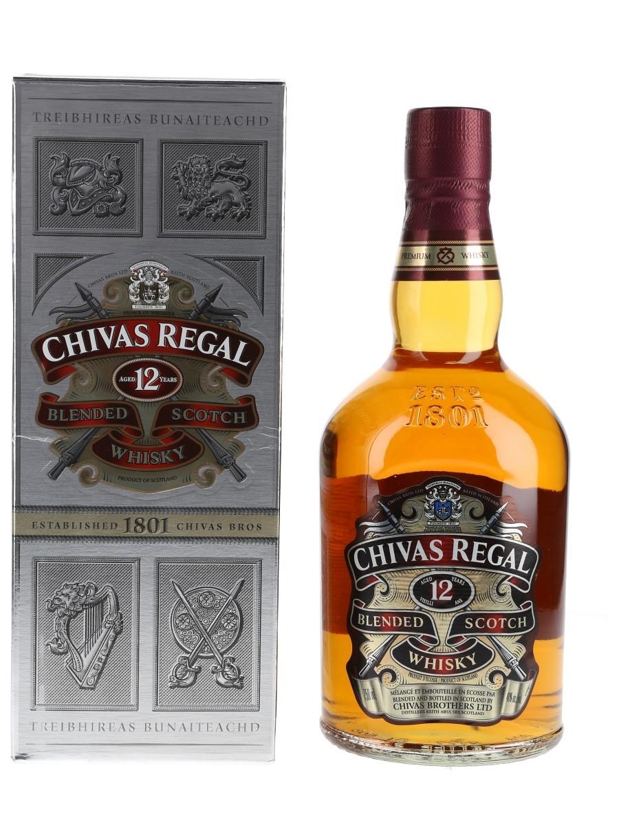 Chivas Regal 12 Year Old Bottled 2014 75cl / 40%