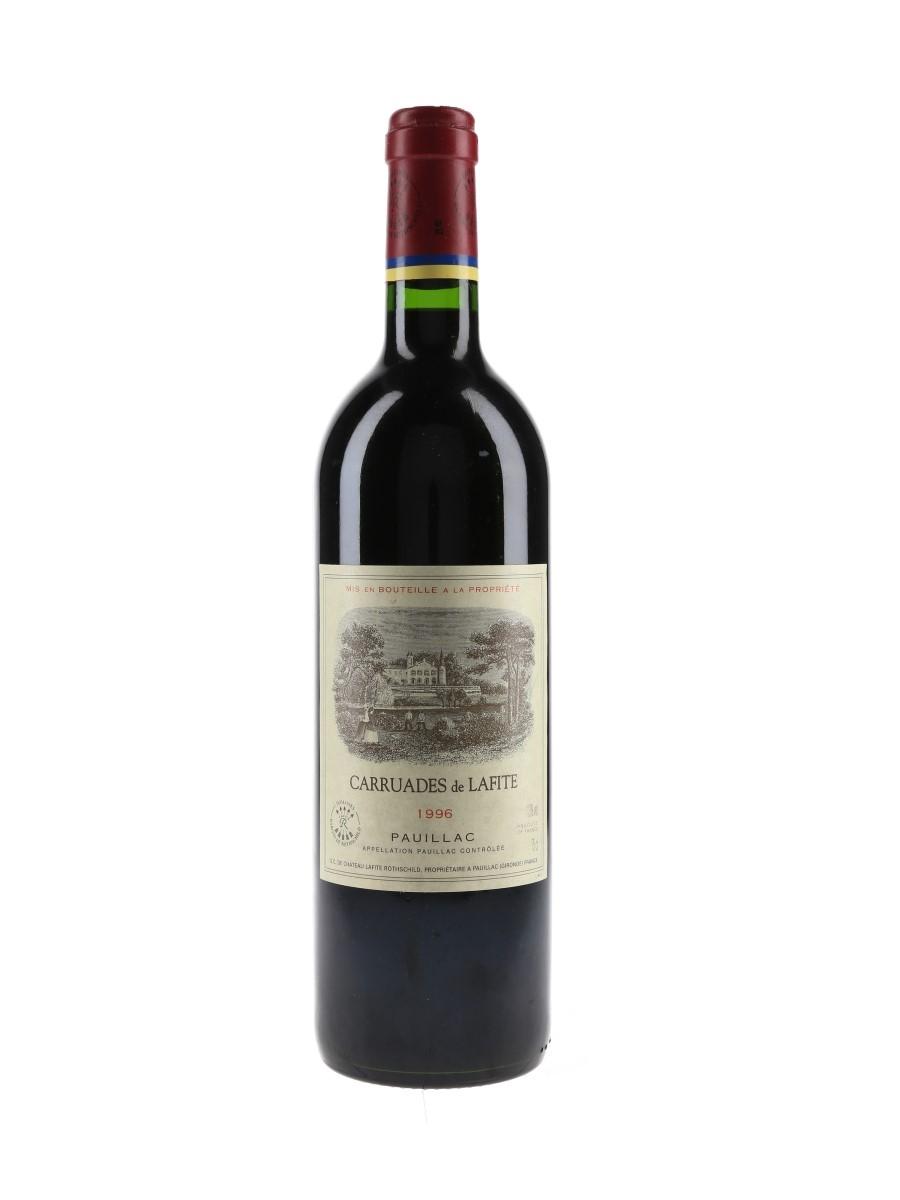 Carruades De Lafite Rothschild 1996 Pauillac 75cl / 13%