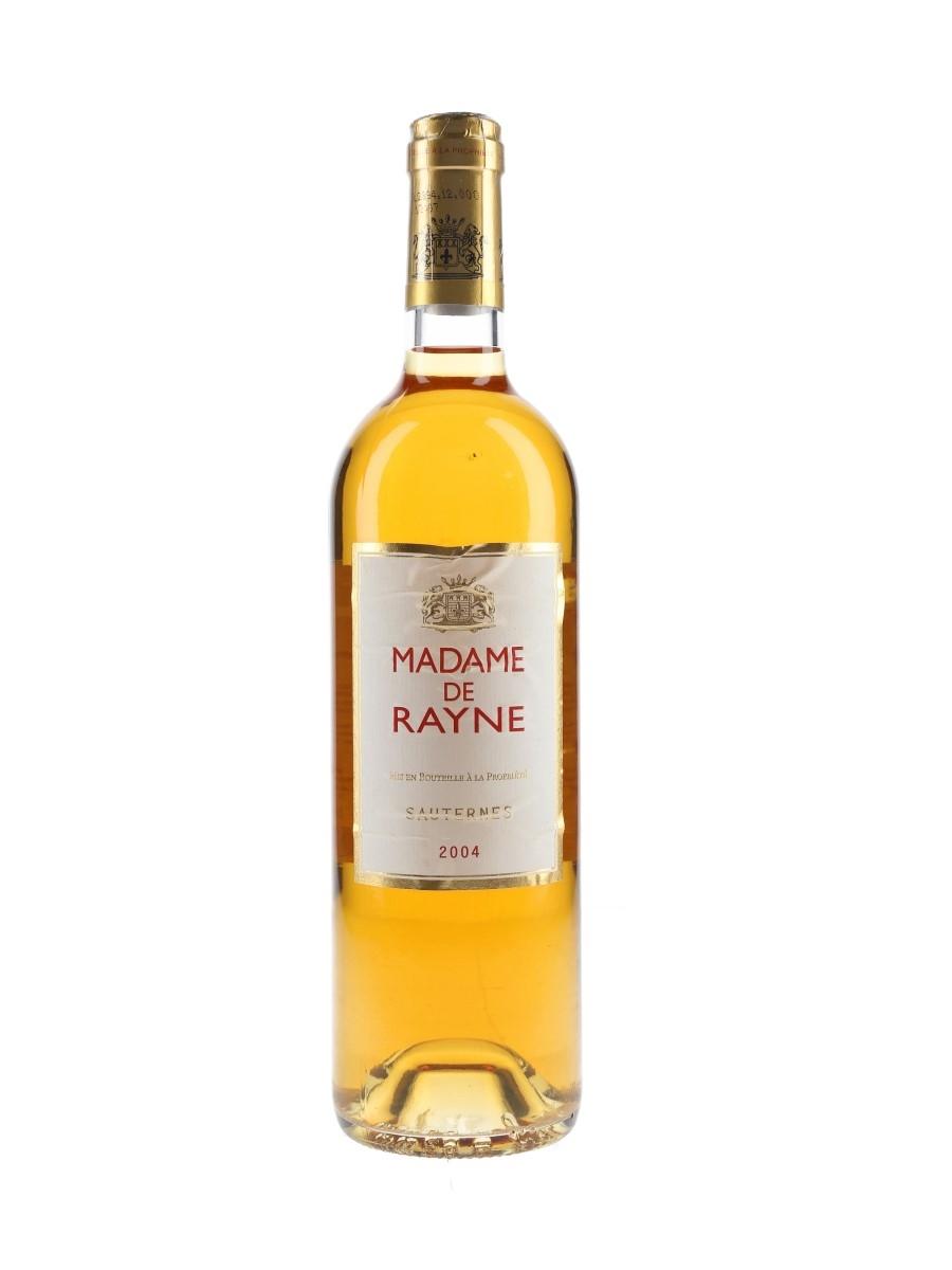 Madame De Rayne 2004 Sauternes 75cl / 13.5%