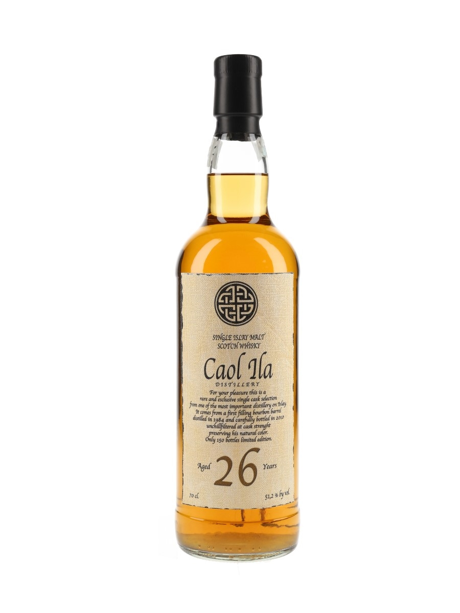 Caol Ila 26 Year Old 1984 Old Bothwell 70cl / 51.2%