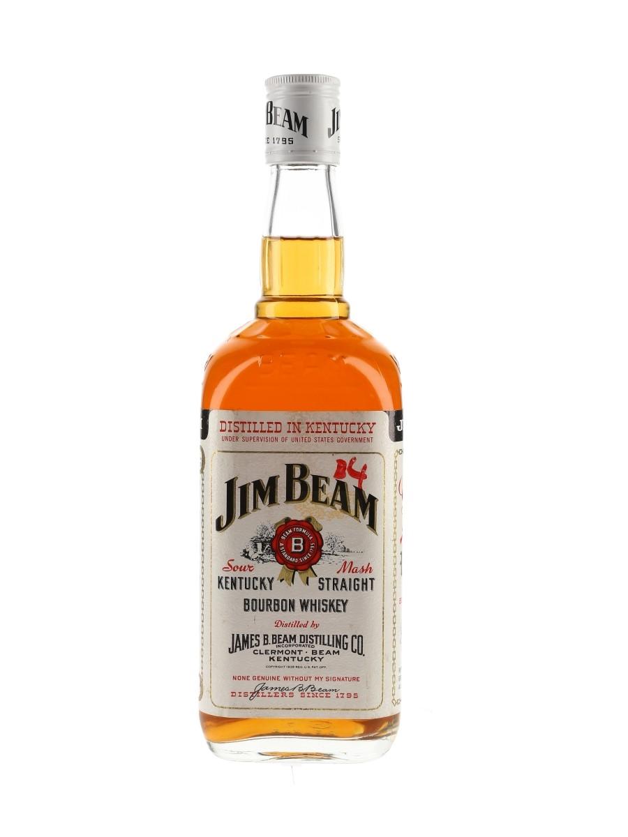 Jim Beam White Label Bottled 1980s 70cl / 40%