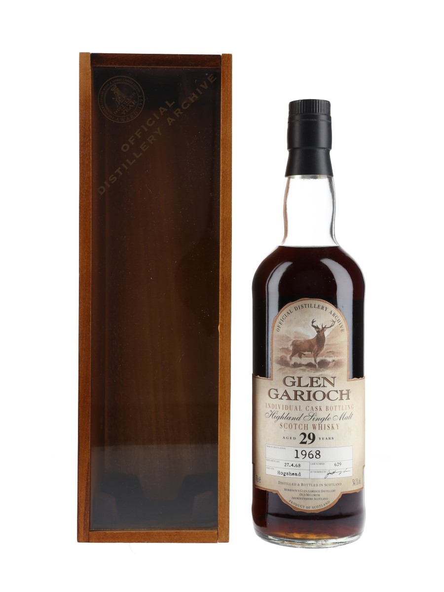 Glen Garioch 1968 29 Year Old Cask 629 Bottled 1997 - Official Distillery Archive 70cl / 54.1%