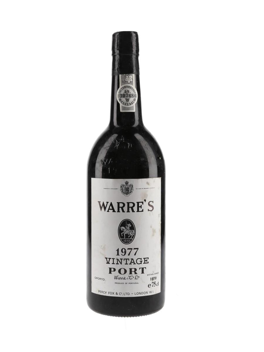 Warre's 1977 Vintage Port  75cl