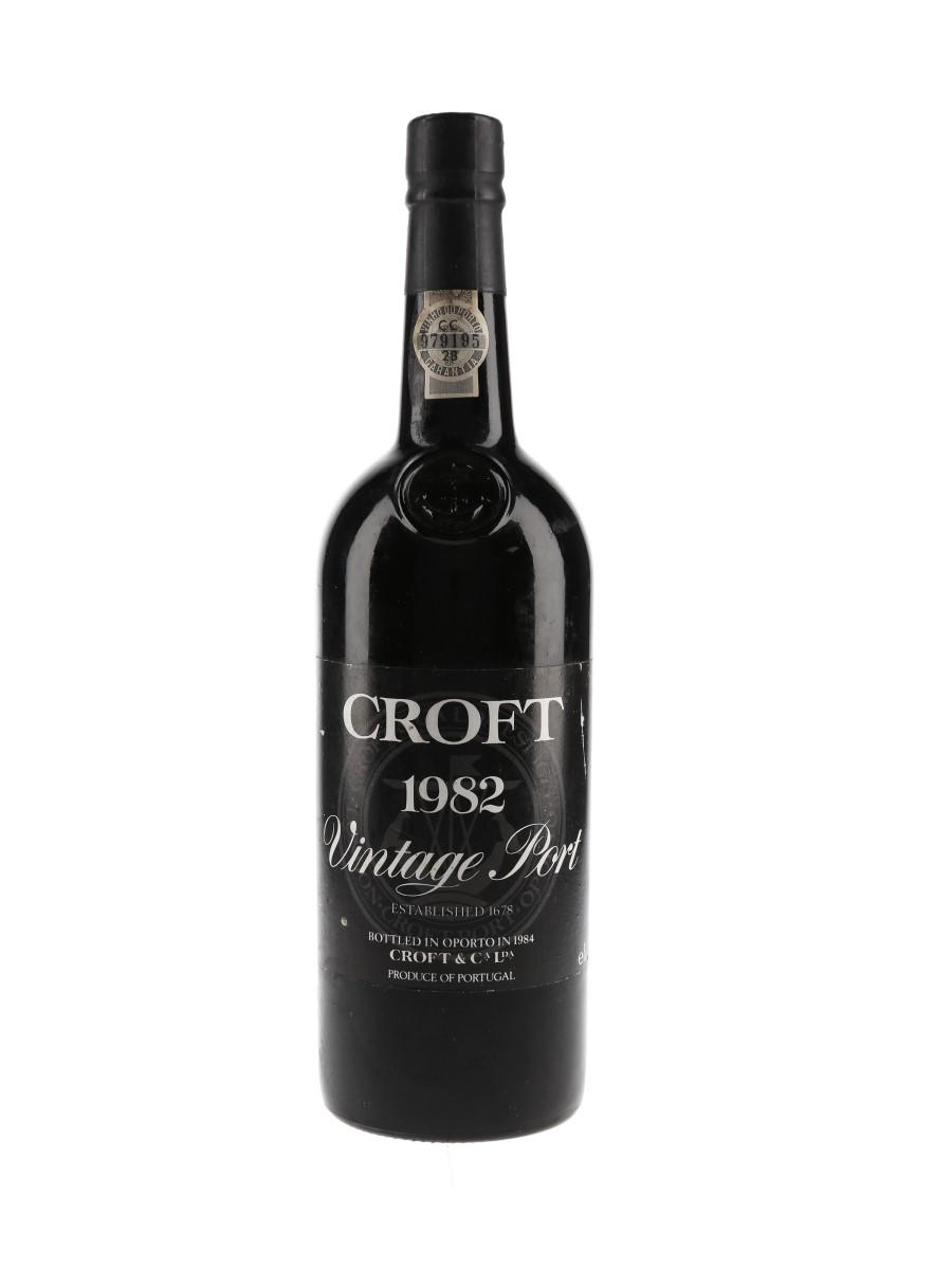 Croft 1982 Vintage Port Bottled 1984 75cl