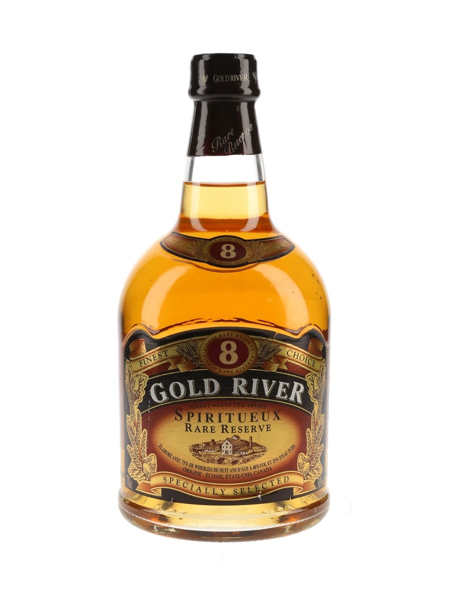 Gold River 8 Year Old Spiritueux Rare Reserve  70cl / 30%