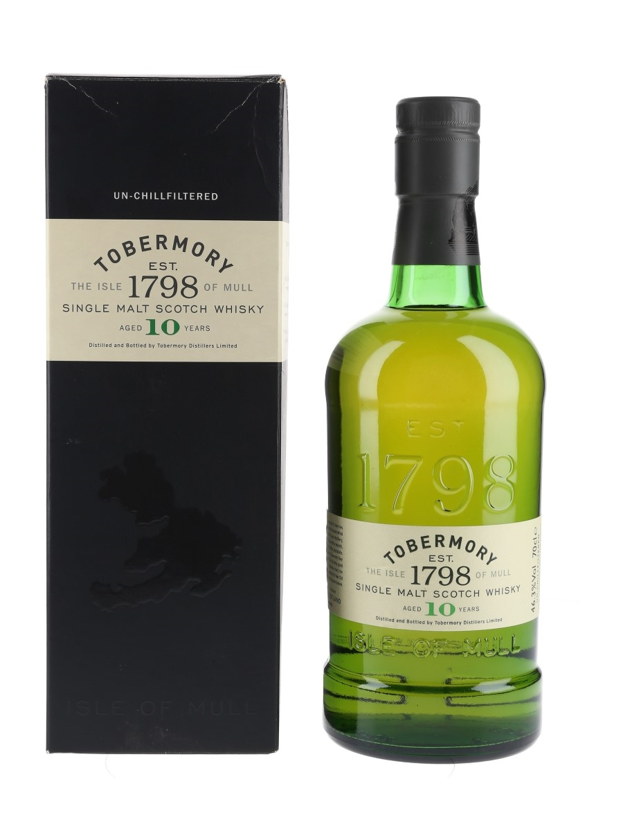 Tobermory 10 Year Old  70cl / 46.3%