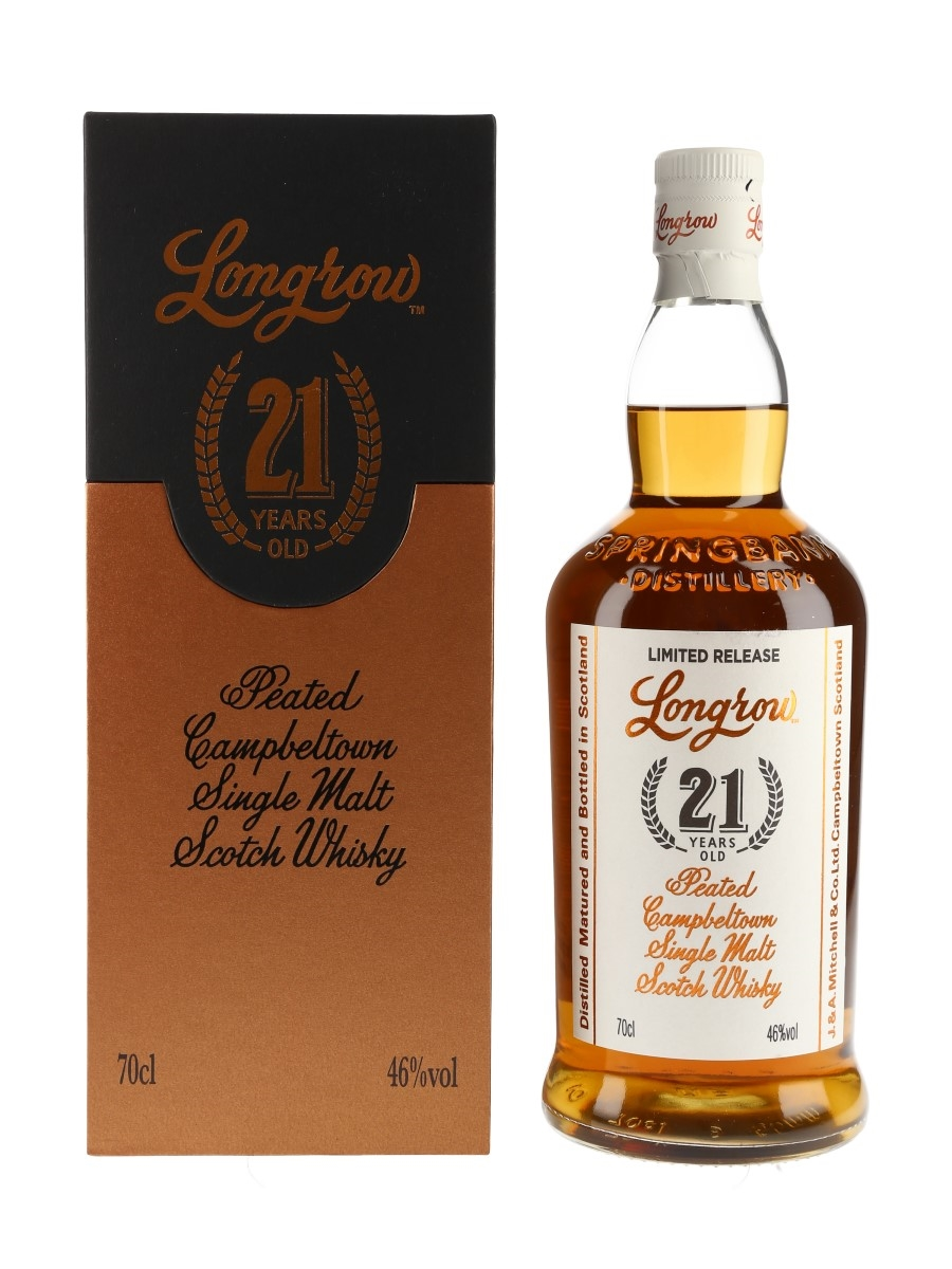 Longrow 21 Year Old Bottled 2020 70cl / 46%