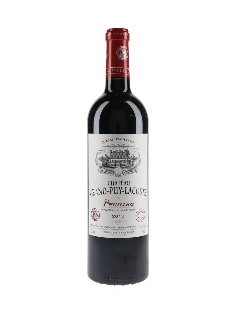 Chateau Grand Puy Lacoste 2013 Pauillac 75cl / 13.5%