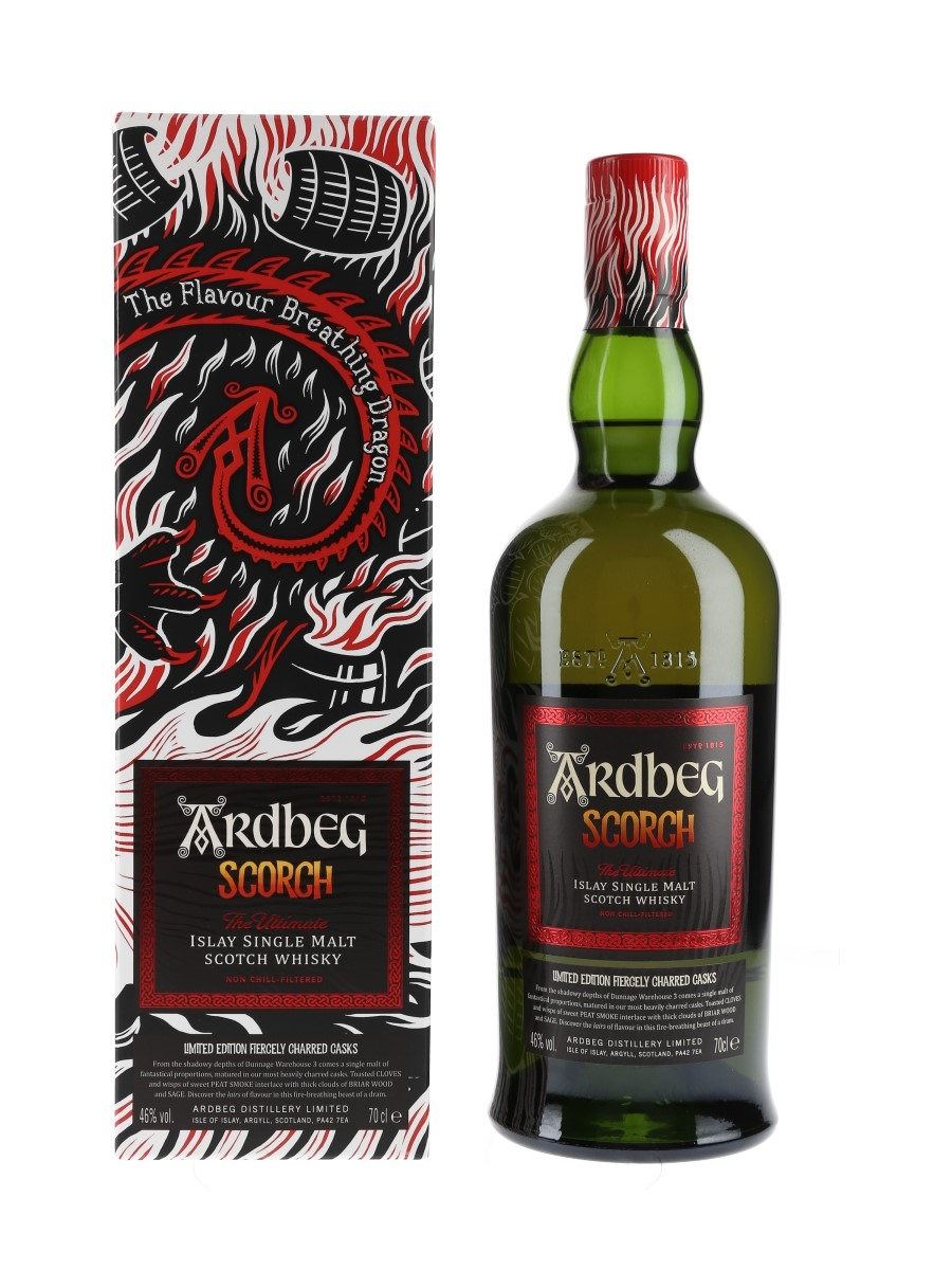 Ardbeg Scorch Limited Edition Fiercely Charred Casks 70cl / 46%