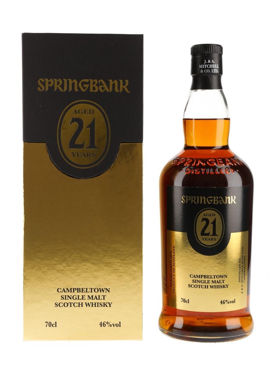 Springbank 21 Year Old Bottled 2019 70cl / 46%