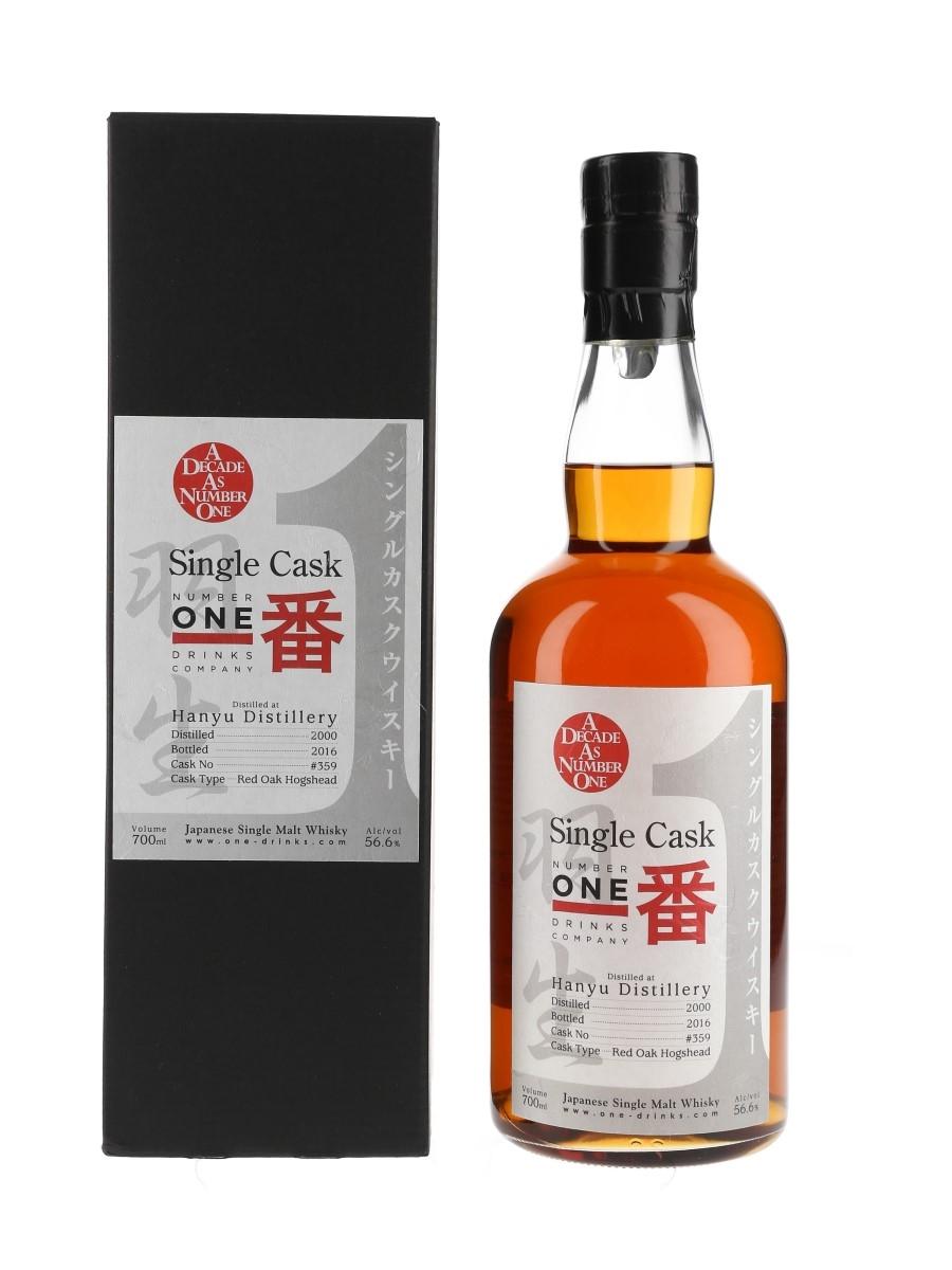 Hanyu 2000 Single Cask #359 Bottled 2016 70cl / 56.6%