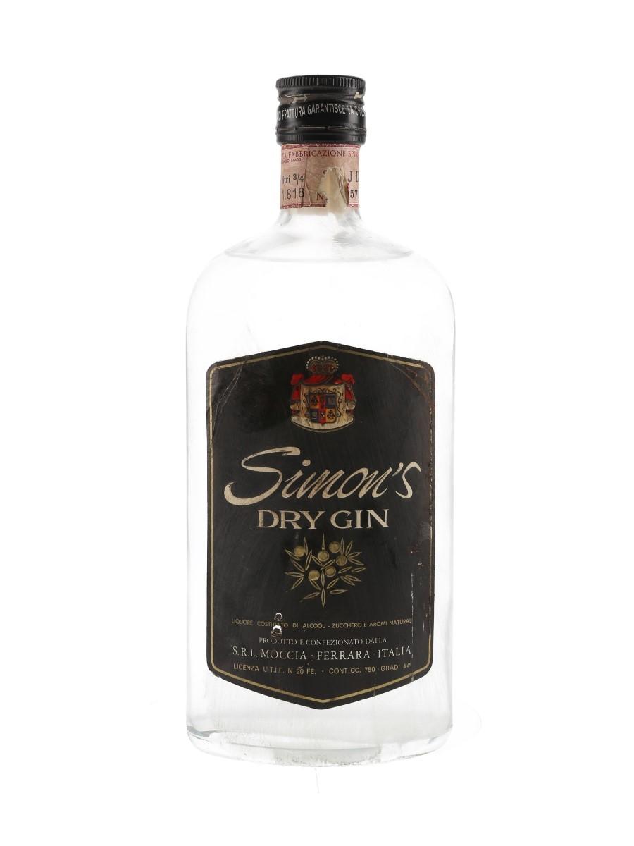 Simon's Dry Gin Bottled 1960s 75cl / 44%