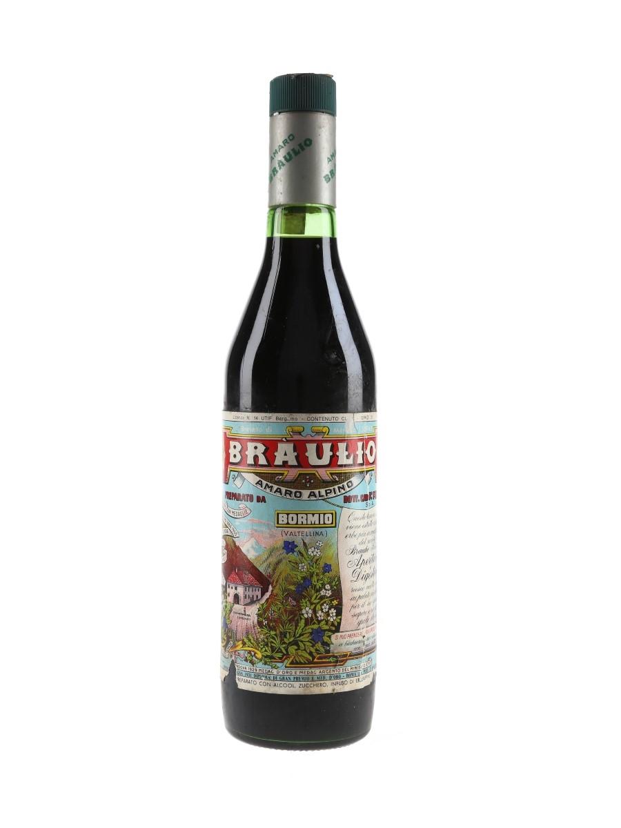 Braulio Amaro Bottled 1970s-1980s 75cl / 21%